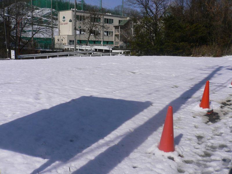 雪化粧!! (・・;)